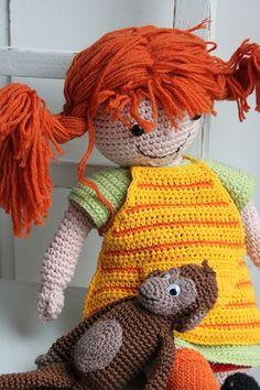 Pippi Langkous in zomerkleding