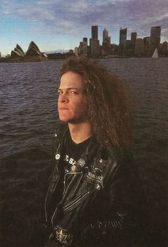 Jason Newsted in Australia