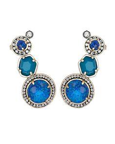 Caralyn Ear Cuffs in Jewel - Kendra Scott Jewelry. Coming July 15!