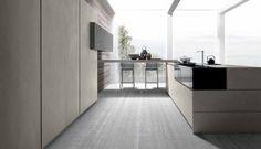 Twenty Cemento kitchen by Modulnova