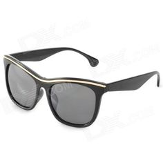 Brand: OREKA; Model: DY781; Quantity: 1; Gender: Unisex; Suitable for: Adults; Protection: A; Frame Color: Black; Lens Color: Gray; Frame Material: Acetic acid; Lens Material: PC; Lens Height: 41 mm; Lens Width: 52 mm; Bridge Distance: 16 mm; Overall Width of Frame: 141 mm; Temple Length: 139 mm; Packing List: 1 x Sunglasses; http://j.mp/1oPA3BK