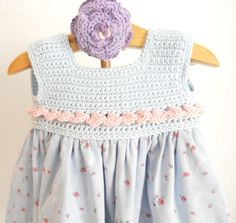 Vestido batista florecillas / Pipocass - Artesanio