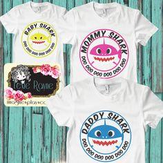 Daddy Shark, Mens Shirt, Mens T Shirt, Papa Bear, Shark Family, Family shirt, T Shirt, Bear family by LexieRayne on Etsy https://www.etsy.com/listing/494971223/daddy-shark-mens-shirt-mens-t-shirt-papa