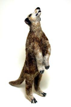 Erdmännchen (trocken gefilzt - ca. 12 cm)