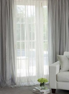 SAND Curtain with 8 Eyelets see through 140 x 260 for Living Room Model Helen Room and Bedroom
