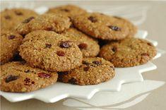 Cookies avoine, noix de coco et fruits secs