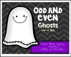 "FREE MATH LESSON – ""Ghost Odd or Even FREEBIE!"" - Go to The Best of Teacher Entrepreneurs for this and hundreds of free lessons.  Kindergarten - 2nd Grade    #FreeLesson     #Math     #Halloween     http://thebestofteacherentrepreneursmarketingcooperative.net/free-math-lesson-ghost-odd-or-even-freebie/"
