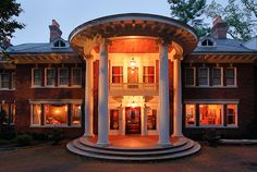 """""""Daybreak"""" Montclair, NJ, ex Strahan mansion - another cool pin under the pin board """"Strahan"""" by fellow pinner, Jonathan Strahan."""