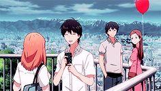 Anime Love — dreaming-of-tokyo:     Orange - Naho & Kakeru in...