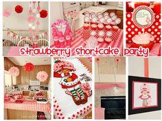 Southern Blue Celebrations: Strawberry Shortcake Party Ideas