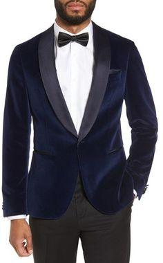 f93bfeb3c5f38 BOSS Men s Nemir Classic Fit Velvet Dinner Jacket Velvet Dinner Jacket