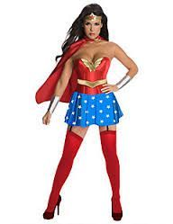 Find sexy Halloween costumes for women, men, and plus-size right here! Shop our selection for the best sexy Halloween costume ideas around! A revealing, sexy costume is sure to make your Halloween or cosplay event a memorable one. Wonder Woman Costumes, Wonder Woman Halloween Costume, Halloween Dress, Halloween Costumes, Women Halloween, Halloween Party, Halloween Cosplay, Superhero Halloween, Spirit Halloween