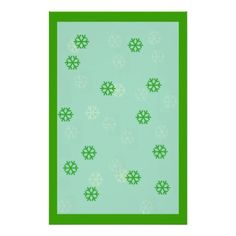 Green Snowflake Winter Stationary! :) http://www.zazzle.com/green_snowflake_winter_stationary_stationery_paper-229132232237951789?rf=238020180027550641