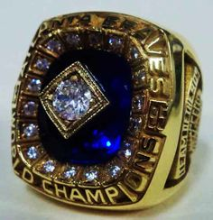 1995 Atlanta Braves Ring