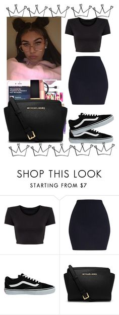 """"" by miixed ❤ liked on Polyvore featuring Vans and MICHAEL Michael Kors"