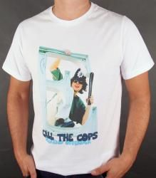 Weekend Offender - Call The Cops T shirt in White