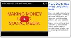 START MAKING MONEY USING SOCIAL MEDIA