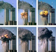 Pictures, photos, or images are © AP or Reuters. Click on the pictures for a larger image. On September 11, 2001 terrorists attack the World Trade Center towers in New York City.