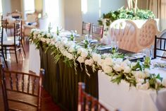 Sleepy Ridge Weddings & Events | Head Table | Sunset Room | Utah Venue | Heather Telford Photography