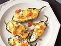 Grilled Stuffed Jalapenos -The rich and creamy combination of bacon, cream cheese, and cheddar nicely contrasts the muted spice of grilled jalapeño peppers. This appetizer recipe is a healthy, fresh alternative to the popular breaded and fried version. Grilled Stuffed Jalapenos, Stuffed Jalapeno Peppers, Jalapeno Poppers, Grilling Recipes, Cooking Recipes, Healthy Recipes, Tailgating Recipes, Oven Recipes, Yummy Recipes