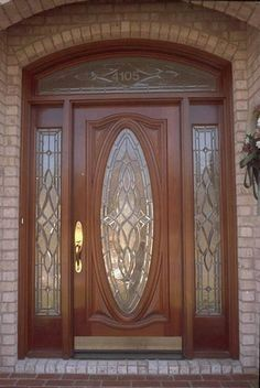 Modern Exterior Concrete - Beautiful Home Exterior - - Wood Front Doors, Exterior Front Doors, Craftsman Exterior, Wooden Doors, Bungalow Exterior, Exterior Signage, Modern Exterior, Wooden Main Door Design, Door Gate Design