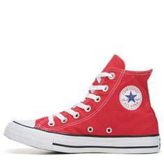 new arrival 099b9 04cc3 Converse Chuck Taylor All Star High Top Sneakers (Red)