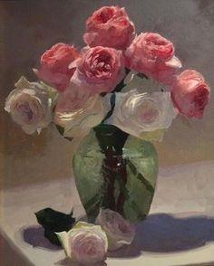 Still Life Flowers, Flower Art, Art Flowers, Still Life Art, Orange Flowers, Pictures To Paint, Aesthetic Art, Art For Sale, Art Reference