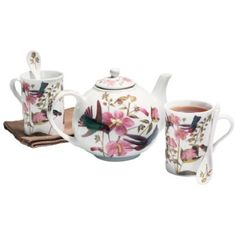 Audubon Hummingbird Tea Set
