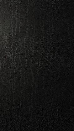 シンプルな黒のレザー iPhone壁紙