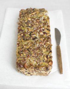 Mushroom & Hazelnut loaf
