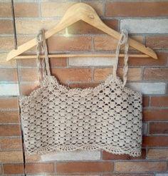 32 New ideas for crochet bikini baby chart Crochet Summer Tops, Crochet Bikini Top, Crochet Blouse, Knit Crochet, Baby Chart, Crochet Baby Clothes, Crochet Woman, Crochet Fashion, Vintage Crochet
