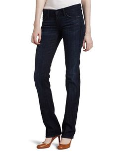 Amazon.com: 7 For All Mankind Women's Straight Leg Jean in Los Angeles Dark: Clothing
