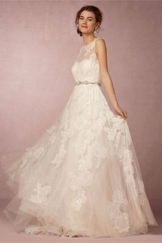 Two in One Lace Gown - Keep Up With the Kardashians with a High Neck Wedding…