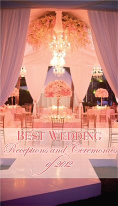 Can definitely see myself using elements of these - The best Ceremonies and Receptions of 2012