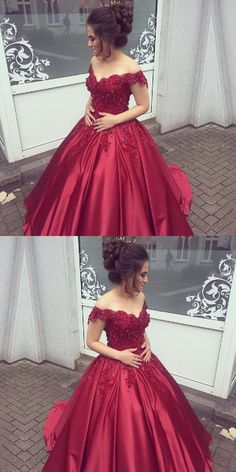 Burgundy Prom Dress, Prom Dress Lace, Long Prom Dress, Prom Dress Ball Gown, Shop plus-sized prom dresses for curvy figures and plus-size party dresses. Ball gowns for prom in plus sizes and short plus-sized prom dresses for Red Ball Gowns, Ball Gowns Prom, Party Gowns, Wedding Party Dresses, Ball Dresses, Prom Party, Winter Formal Dresses, Formal Evening Dresses, Evening Gowns