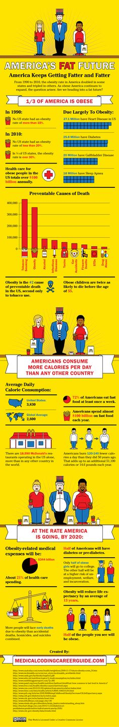 The High Cost of Obesity in the United States of America
