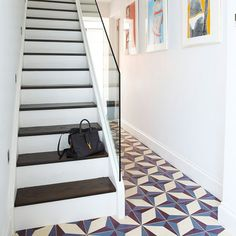 Hallway | Retro chic west London townhouse | House tour | PHOTO GALLERY | Livingetc | Housetohome.co.uk