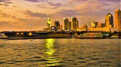USS Midway, San Diego, California
