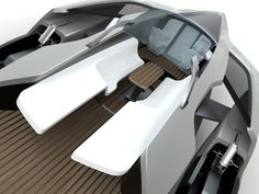 Audi Trimaran Yacht design concept