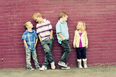 such a great shot! will i ever get something like this with my four kiddos??? hmmm...