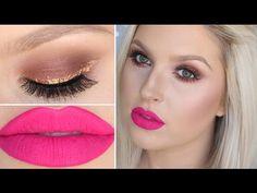 Jaclyn Hill Morphe Palette ♡ Warm Copper, Hot Pink & Glitter