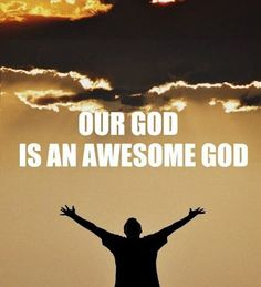 When Be rolls up his sleeves, He aint just puttin on the ritz. Our God is an awesome God. Theres thunder in His footsteps and lightning in His fists. Our God is an awesome God. Praise The Lords, Praise And Worship, Praise God, Great Quotes, Inspirational Quotes, Smart Quotes, Meaningful Quotes, God Jesus, Jesus Christ