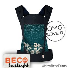 Beco Baby Carrier Soleil in Twilight #NewBecoPrints