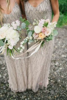 Stunning bridesmaids gowns!