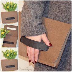 Domowe Szycie - torebka uszyta z washpapy standard sierra