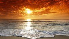 Harika gün batımı manzarası