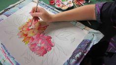 Silk Art, Silk Painting, Silk Scarves, Shibori, Create, Youtube, Illustrations, Videos, Silk