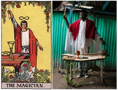Ghetto Tarot – A Photographer Re-Interprets The Traditional Deck. Beautifully. | http://www.ifitshipitshere.com/ghetto-tarot/