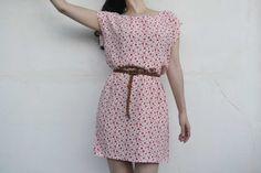 Πως να ράψεις ένα απλό φόρεμα!