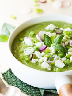 dinner list ~ dinner list ` dinner list ideas ` dinner list ideas menu planning ` dinner list for the week ` dinner list printable Zucchini Soup, Vegan Zucchini, Healthy Soup, Healthy Cooking, Healthy Recipes, Healthy Life, Feta, Chilled Soup, Salty Foods